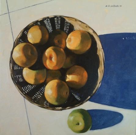 Avinash Satpute | Oil Painting title Untitled 6 on Canvas | Artist Avinash Satpute Gallery | ArtZolo.com