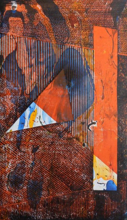 art, printmaking, woodcut, paper, abstract