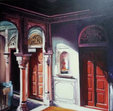 Untitled 1 | Painting by artist Rajashree Sutar | acrylic | Canvas
