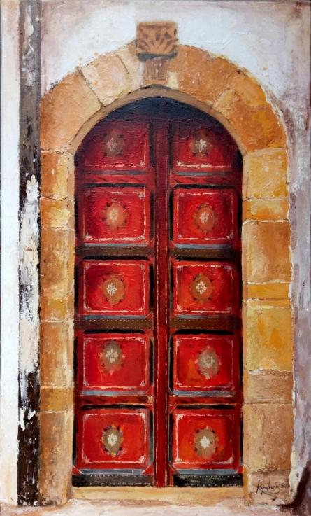Still-life Acrylic Art Painting title 'Untitled 11' by artist Rajashree Sutar
