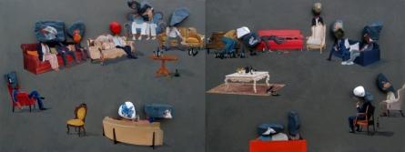 Fantasy Mixed-media Art Painting title Untitled 2 by artist Pragnesh Patel