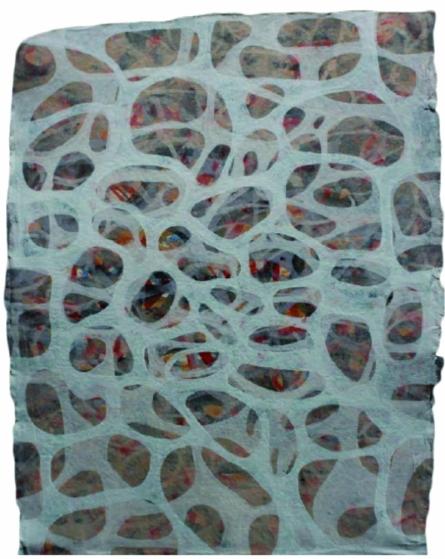 Creative Landscape 1 | Painting by artist Sudhir Pawar | acrylic | Canvas