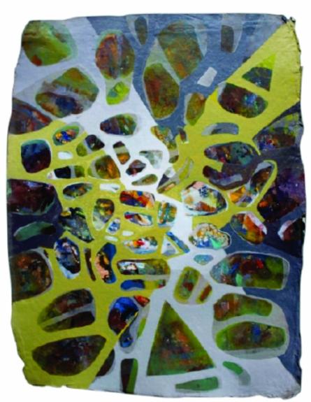 Creative Landscape 2 | Painting by artist Sudhir Pawar | acrylic | Canvas