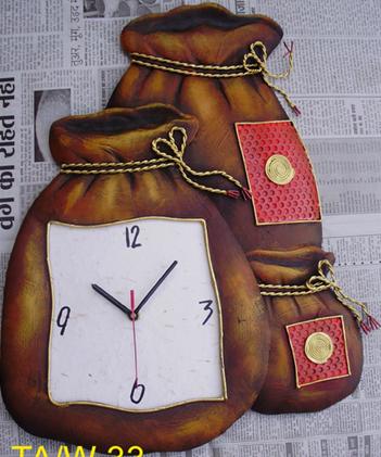Wall Clock | Craft by artist Handicrafts | Wrought Iron