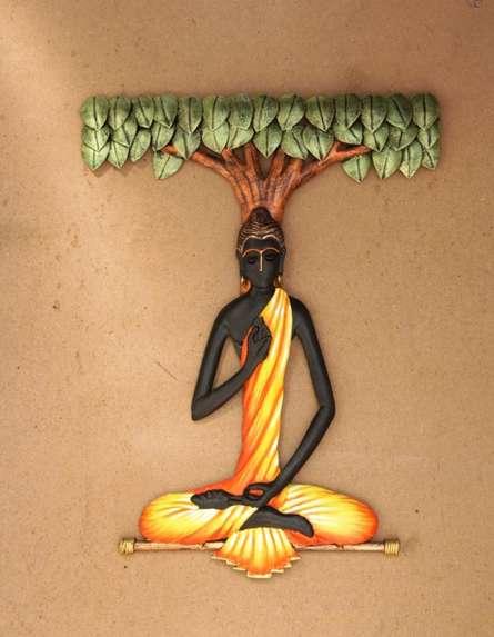 Buddha | Craft by artist Handicrafts | Wrought Iron