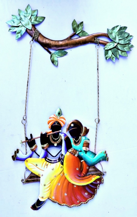 Nitesh H | Krishna Radha Jhoola 6 Craft Craft by artist Nitesh H | Indian Handicraft | ArtZolo.com