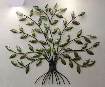 Leaves Wall Hanging   Craft by artist Handicrafts   Wrought Iron