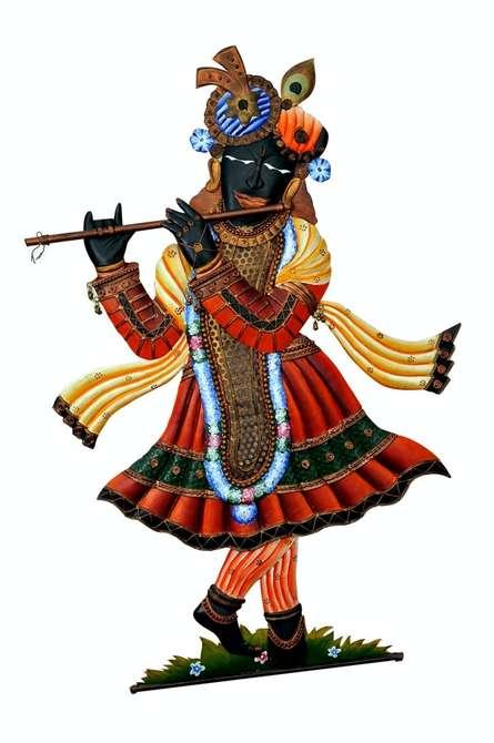 Lord Srinathji | Craft by artist Handicrafts | Wrought Iron