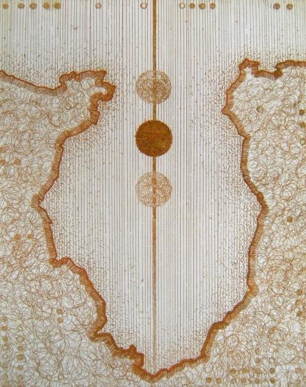 Anamika Kuchan | Untitled 12 Printmaking by artist Anamika Kuchan | Printmaking Art | ArtZolo.com