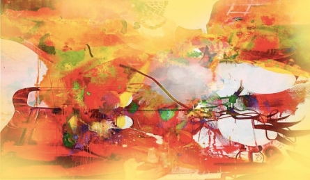 Untitled 2 | Painting by artist Sunil Balkawade | mixed-media | Canvas