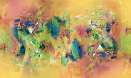 Sunil Balkawade   Mixed-media Painting title Untitled 3 on Canvas   Artist Sunil Balkawade Gallery   ArtZolo.com