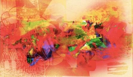 Untitled 5 | Painting by artist Sunil Balkawade | mixed-media | Canvas