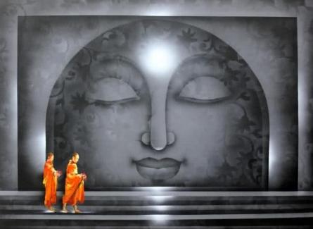 Divine Light 1 | Painting by artist Pradeesh K | acrylic | Canvas