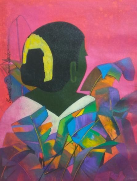 Figurative Acrylic Art Painting title 'Untitled 1' by artist Prakash Deshmukh