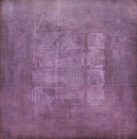 Solid Mauve Abstract | Painting by artist Mohit Bhatia | acrylic | Canvas