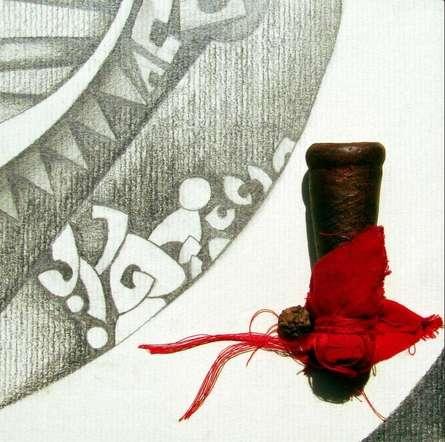 Mohit Bhatia | Mixed Media Abstarct I Mixed media by artist Mohit Bhatia on Paper | ArtZolo.com
