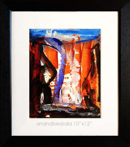 Untitled | Painting by artist Anand Bedrala | acrylic | Acid Free Paper
