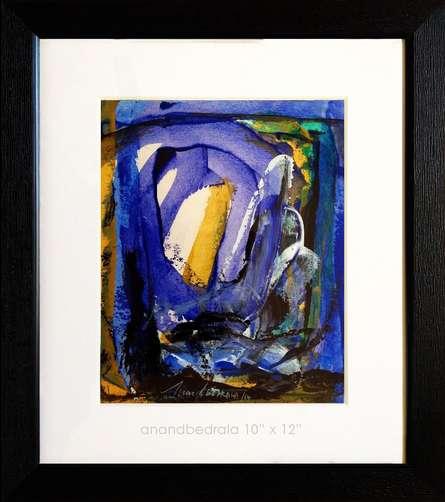 UnTitle - 28 | Painting by artist AnndBedrala Bangalore | acrylic | Acid Free Paper