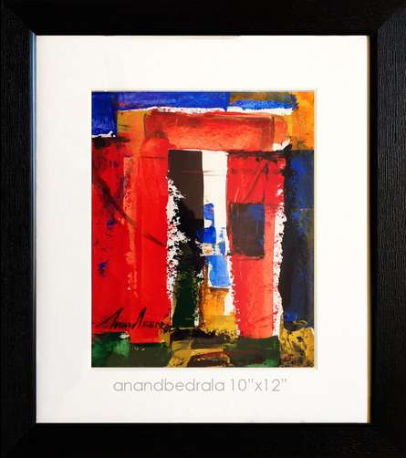 Abstract Acrylic Art Painting title 'UnTitle 5' by artist AnndBedrala Bangalore