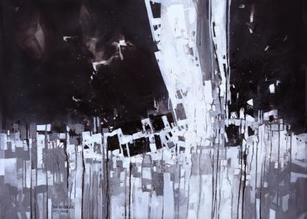 Sagar Bondre | Acrylic Painting title Untitled 3 on Canvas | Artist Sagar Bondre Gallery | ArtZolo.com