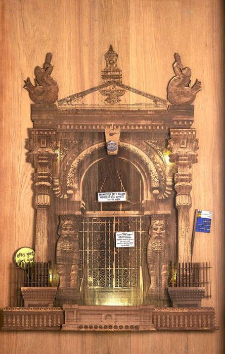 Shriram Mandale | Ode To Fire Sculpture by artist Shriram Mandale on Teak Wood | ArtZolo.com
