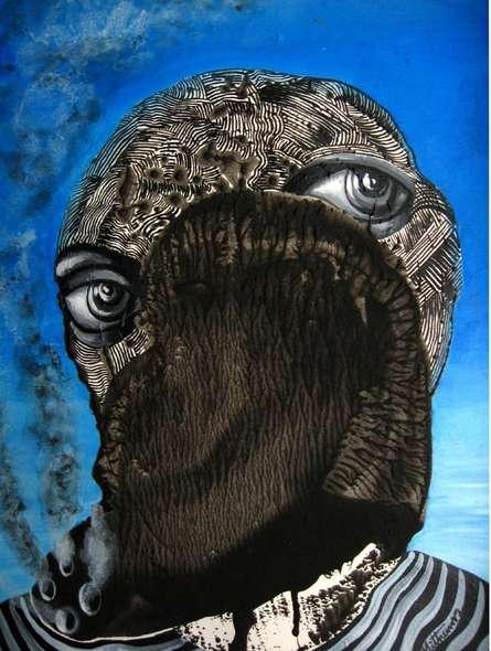 Survivor | Painting by artist Mithun Dasgupta | acrylic | Acid Free Paper