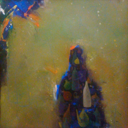 contemporary Acrylic Art Painting title 'Life 1' by artist Pravin Shinde