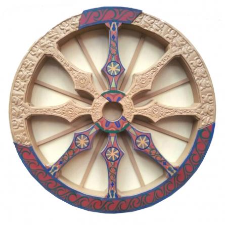 art, sculpture, wood, fibre, pattern