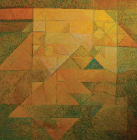Abstract Acrylic Art Painting title Untitled 16 by artist Mansi Palshikar