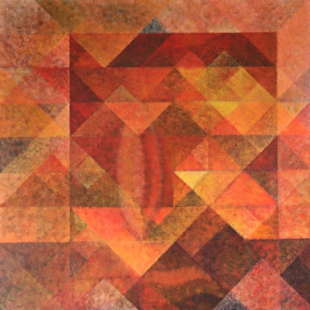 Abstract Acrylic Art Painting title Untitled 2 by artist Mansi Palshikar