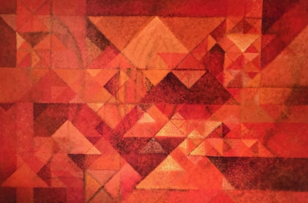 Abstract Acrylic Art Painting title 'Untitled 9' by artist Mansi Palshikar