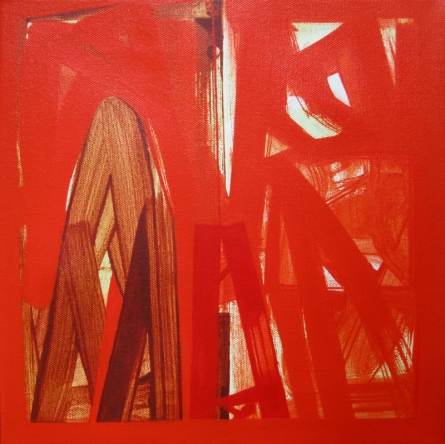 Abstract Acrylic Art Painting title 'Untitled 14' by artist Ramesh Anand