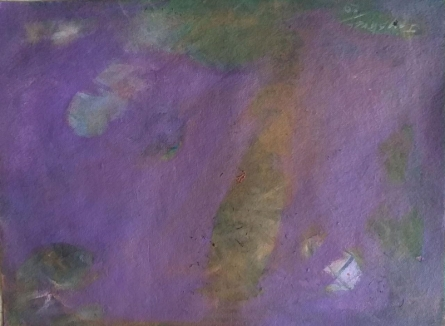 Abstract Acrylic Art Painting title Hope Is A Thing With Feathers by artist Jayshree Savani