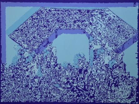 Figurative Acrylic Art Painting title 'Jubilation 3' by artist Niraja Bhuwal