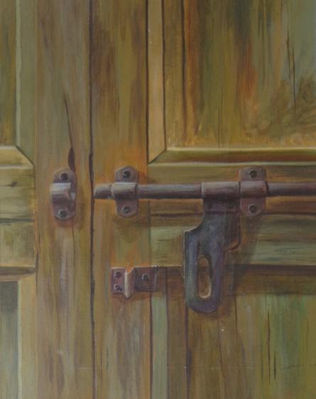 Still-life Acrylic Art Painting title 'Untitled 2' by artist Divya Chinni