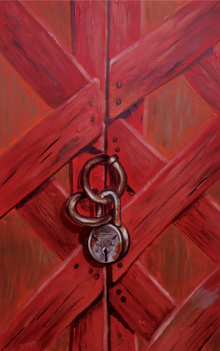 Still-life Acrylic Art Painting title 'Untitled 3' by artist Divya Chinni