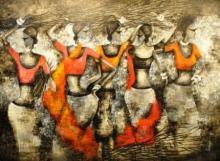 Nest | Painting by artist Sarang Singla | acrylic | Canvas