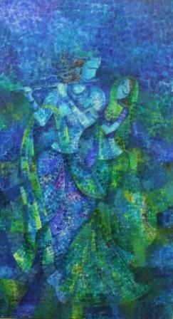 Epic | Painting by artist Sarang Singla | acrylic | Canvas