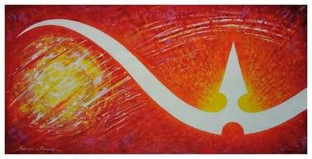 Religious Acrylic Art Painting title Img 20201230 110732 by artist Santosh Dangare Santosh Narayan Dangare