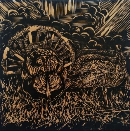 Swati Siwach | Joy Of Life Printmaking by artist Swati Siwach | Printmaking Art | ArtZolo.com