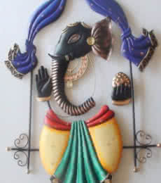 Radha Krishna Jhoola 1 | Craft by artist Handicrafts | Wrought Iron