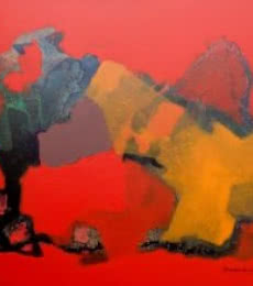 Untitled | Painting by artist Ravindra Parkhi | acrylic | Canvas