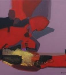 Ravindra Parkhi | Acrylic Painting title Untitled on Canvas | Artist Ravindra Parkhi Gallery | ArtZolo.com
