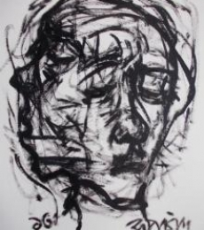 Pain 7   Drawing by artist Rupchand Kundu      others   Paper