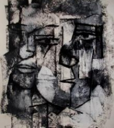 Reflex Of Mind 4 | Drawing by artist Rupchand Kundu |  | others | Paper