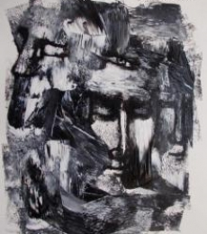 Reflex Of Mind 5 | Drawing by artist Rupchand Kundu |  | others | Paper