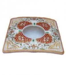 Ash Tray | Craft by artist Ecraft India | Marble