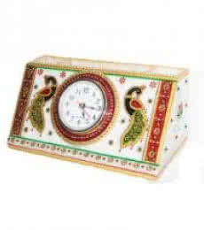 Ecraft India | Watch With Pen Stand Craft Craft by artist Ecraft India | Indian Handicraft | ArtZolo.com