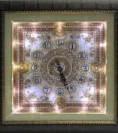 Ecraft India | Designer Wall Clock Craft Craft by artist Ecraft India | Indian Handicraft | ArtZolo.com