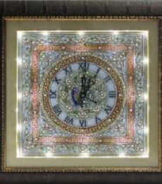 Ecraft India | Embossed Wall Clock Craft Craft by artist Ecraft India | Indian Handicraft | ArtZolo.com